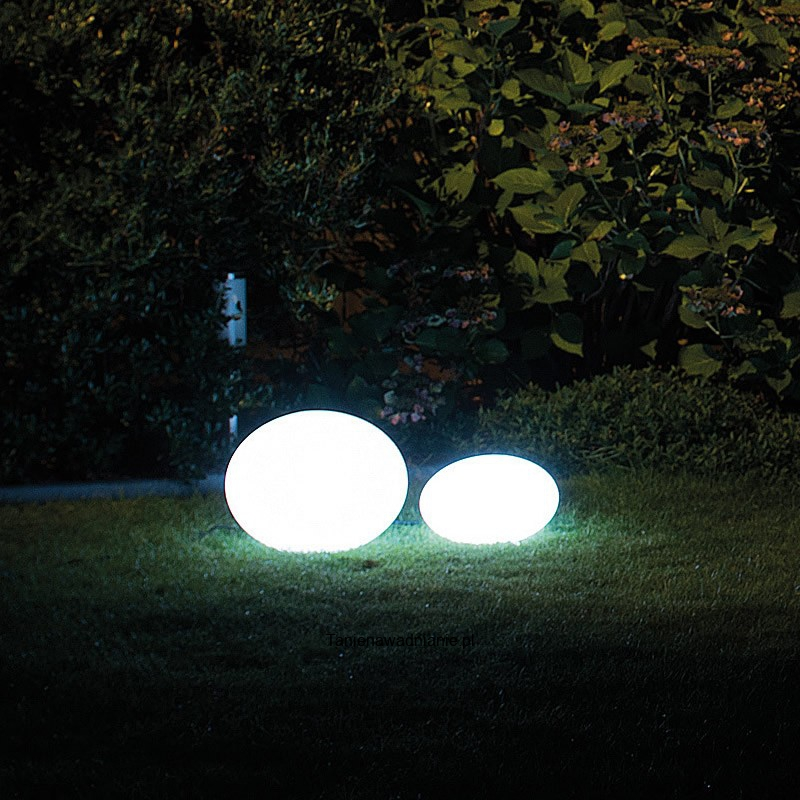 Oval 28 Lampa Led Rgb Biały Ip44